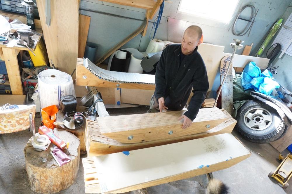 greg ryan proboard designs  bindingless riding