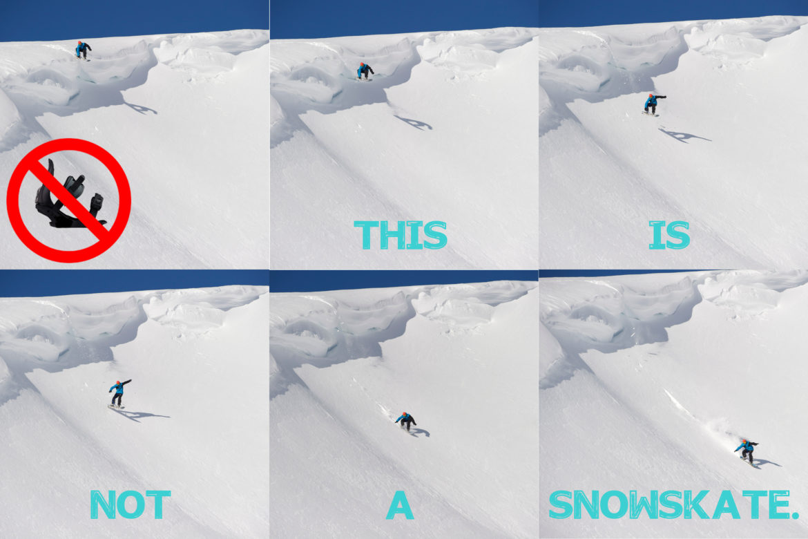 this is not a snowskate proboard designs